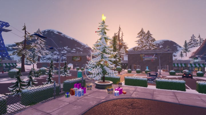 All Christmas Trees Fortnite Where To Find Them A collection of the top 10 fortnite christmas wallpapers and backgrounds available for please contact us if you want to publish a fortnite christmas wallpaper on our site. all christmas trees fortnite where to
