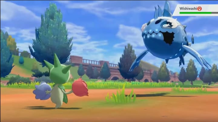 Wishiwashi Evolution Location Rarity Stats In Pokemon Sword And