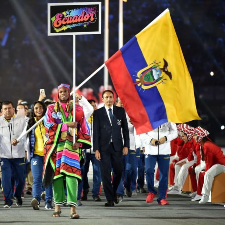 PANAM-2019-OPENING CEREMONY-ECU
