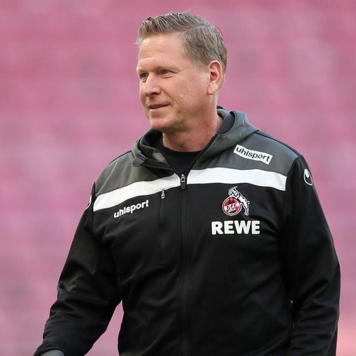 Markus Gisdol wird Köln voraussichtlich mindestens bis in den Dezember betreuen