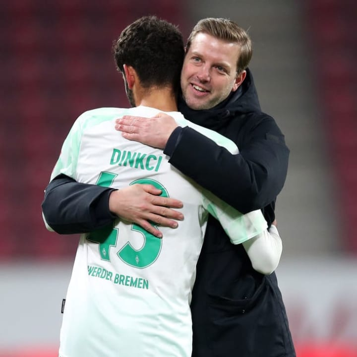 Florian Kohfeldt möchte seinen Youngster Eren Dinkci vor einem Mega-Hype schützen
