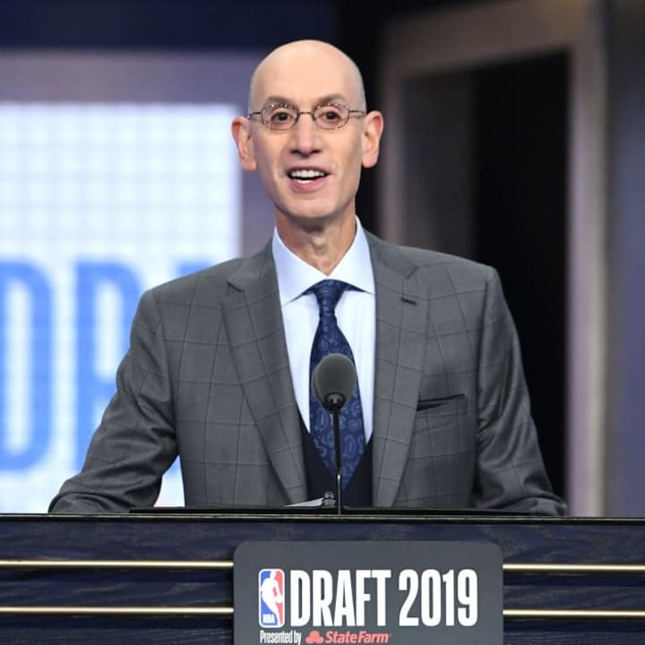 Adam Silver, Houston Rockets, NBA Draft