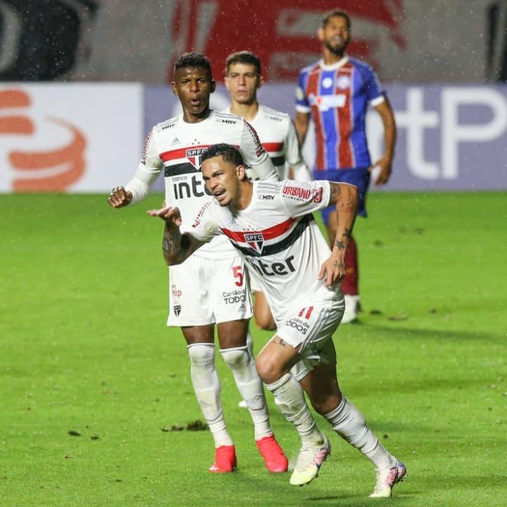2020 Brasileirao Series A: Sao Paulo v Bahia Play Behind Closed Doors Amidst the Coronavirus (COVID