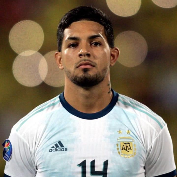 Medina plays international football for Argentina