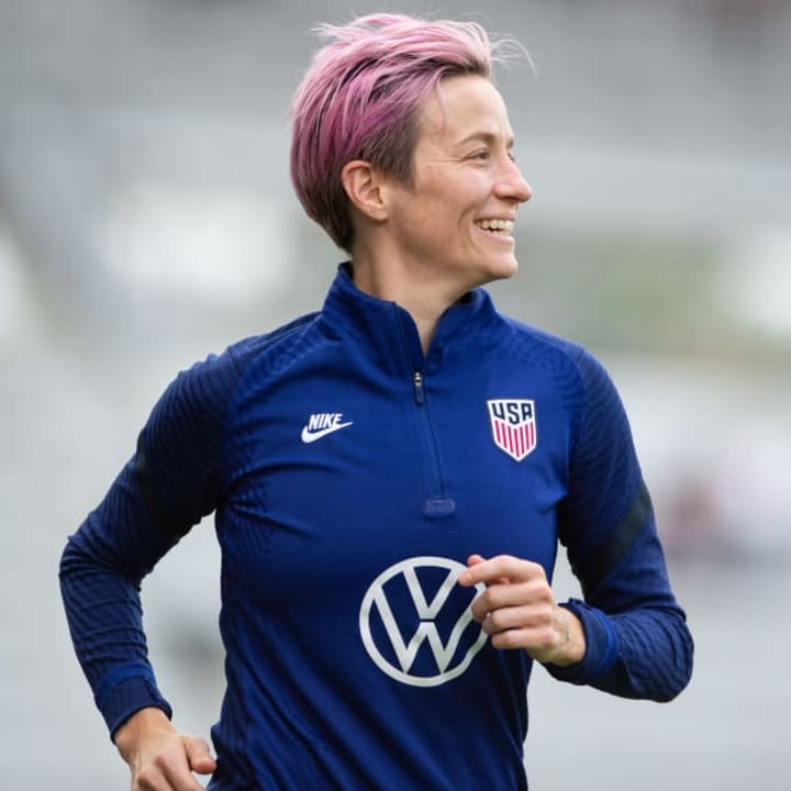 Rapinoe says investing & funding has made men's sport what it is