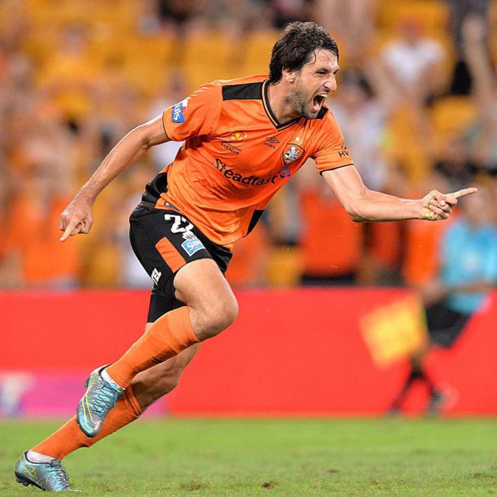 Thomas Broich im Trikot von Brisbane Roar FC