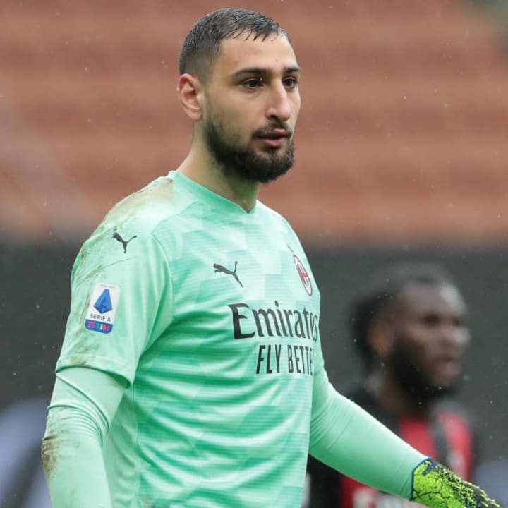 Donnarumma is a key part of Milan's Serie A title challengers