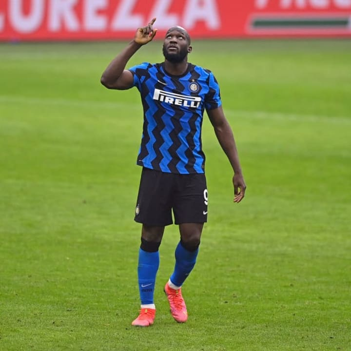 Lukaku was dominant against AC Milan