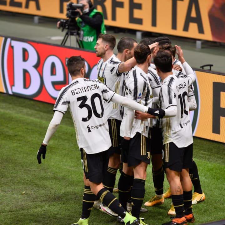 Juventus broke Milan's unbeaten run in Serie A this season and cannot be written off