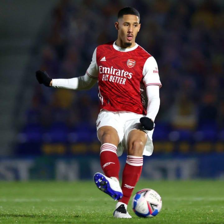 Saliba joined Nice on loan recently