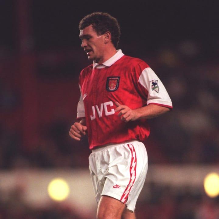 John Jensen of Arsenal