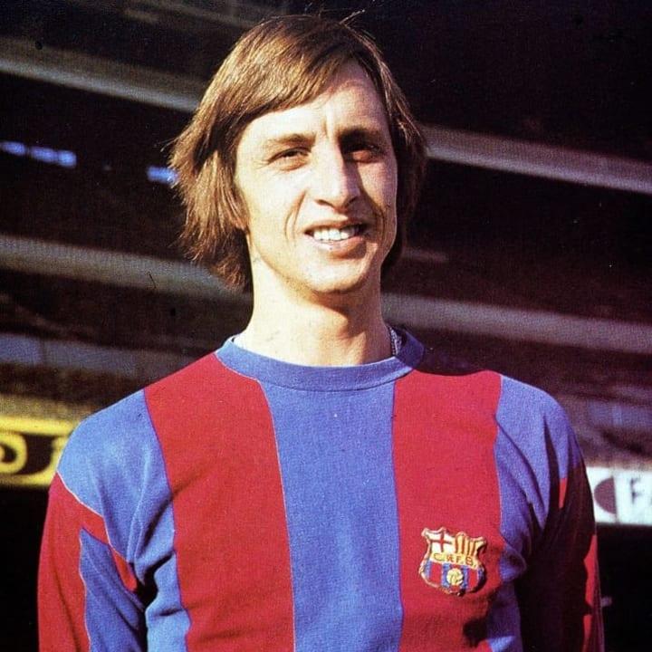 Cruyff created Barcelona's style of play