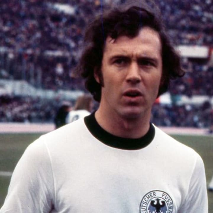 Franz Beckenbauer was Germany's Euro & World Cup winning captain