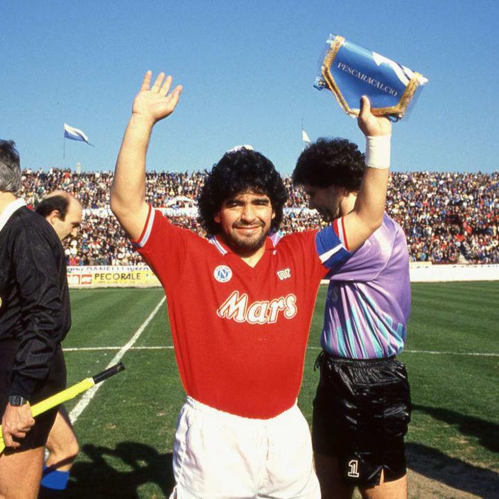 Diego Maradona is a Napoli legend