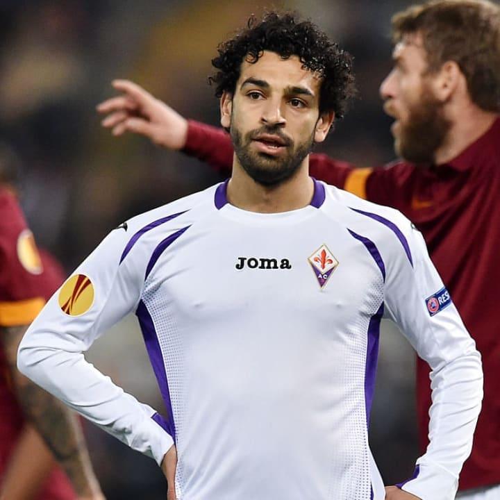 Salah's career took off in Serie A