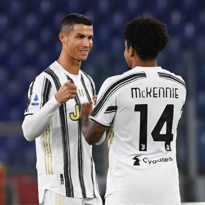 Cristiano Ronaldo, Weston Mckennie