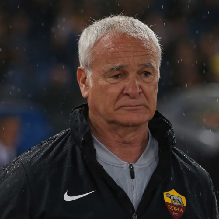 Claudio Ranieri returned to Roma for a short stint in 2019