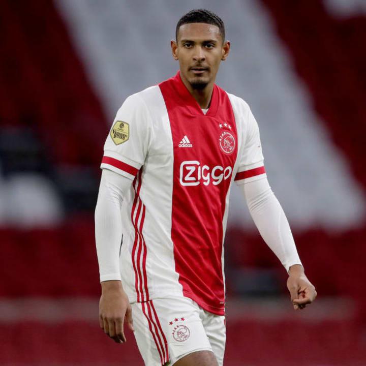 Sebastien Haller was sold to Ajax earlier this month