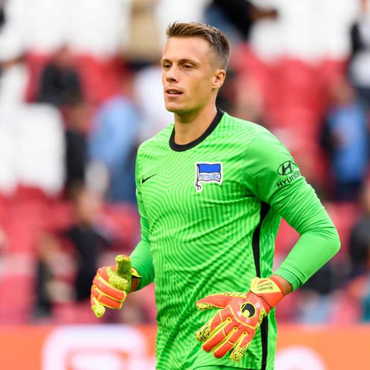 Hertha statt Schalke: Alexander Schwolow