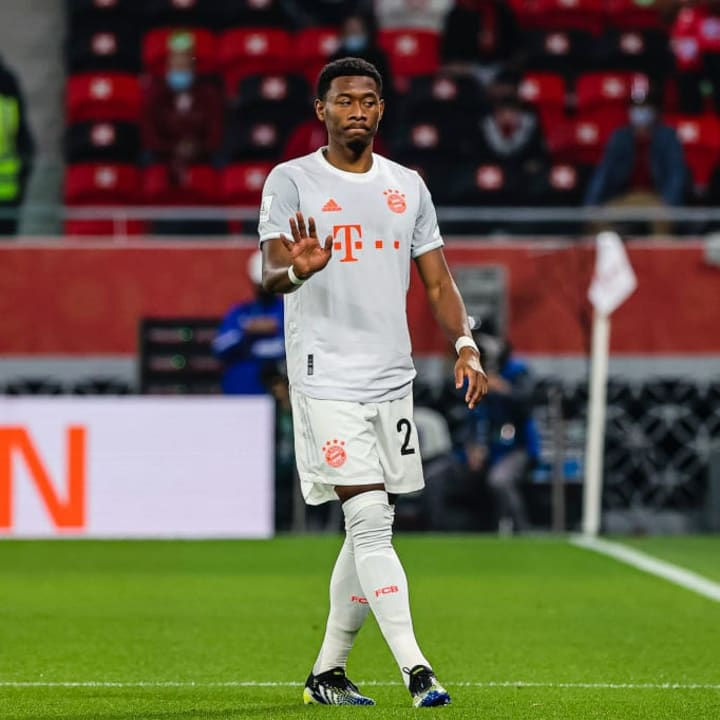 Alaba looks to be on his way out