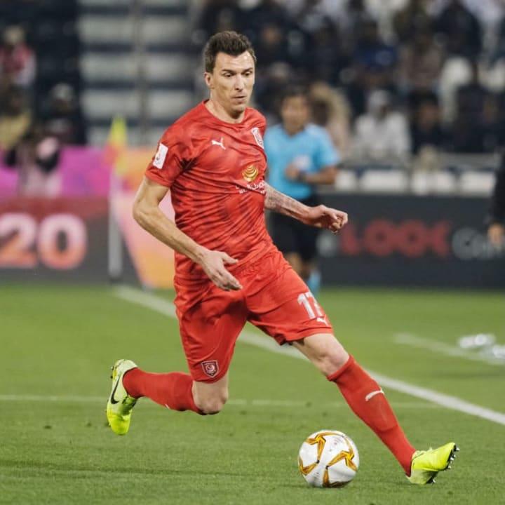 Mandzukic last played in Qatar