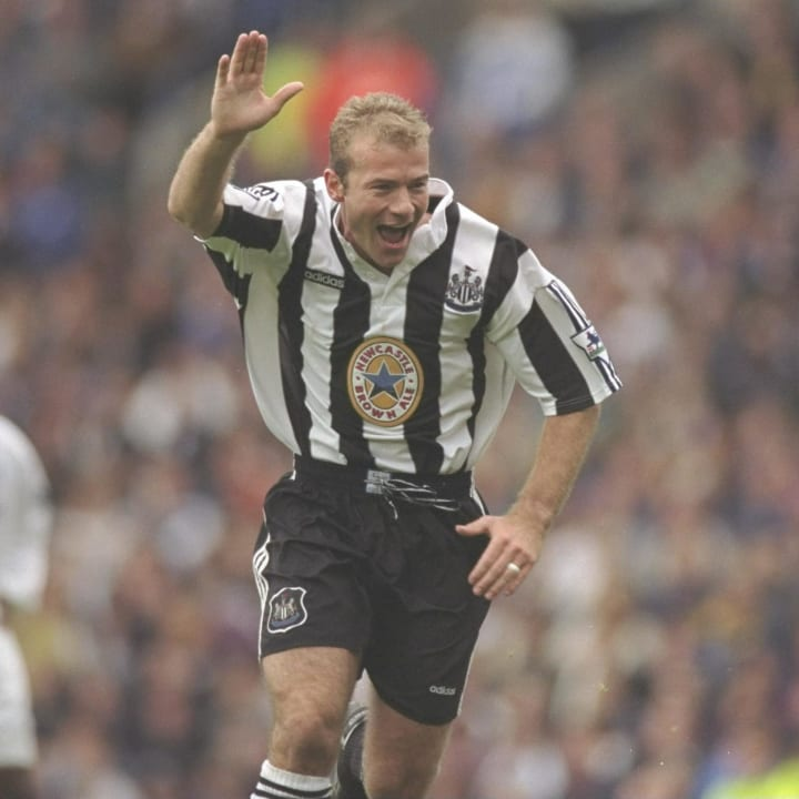 Alan Shearer is Newcastle's most famous number nine in the Premier League era