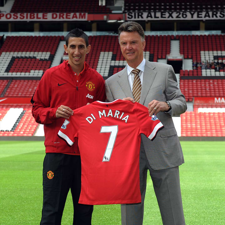 Di Maria's time at Old Trafford was short-lived