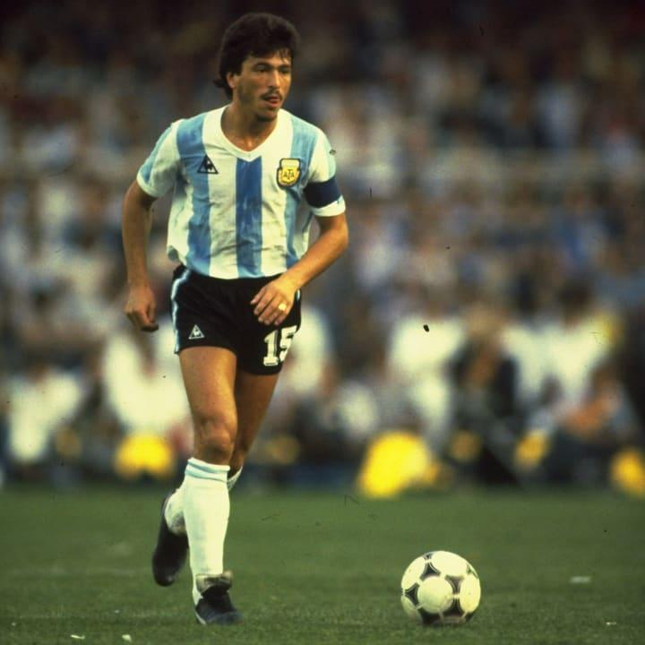 Argentina Captain Daniel Passarella