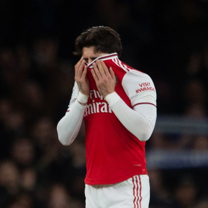 The 2019/20 season was a frustrating one for Bellerin