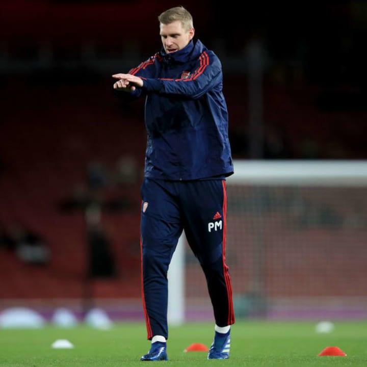 Mertesacker works in the Arsenal academy