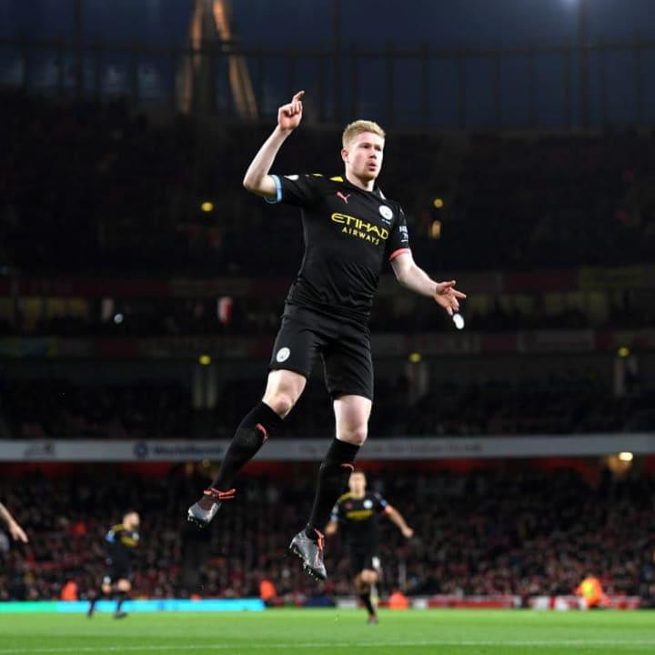 De Bruyne always picks up fantasy points against Arsenal