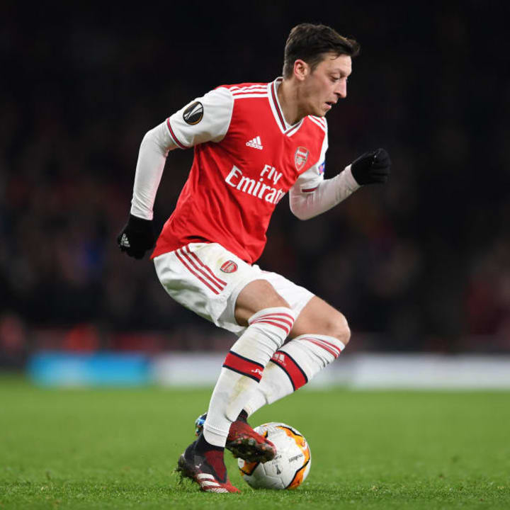 Ozil has been left out of Arsenal's Premier League & Europa League squads