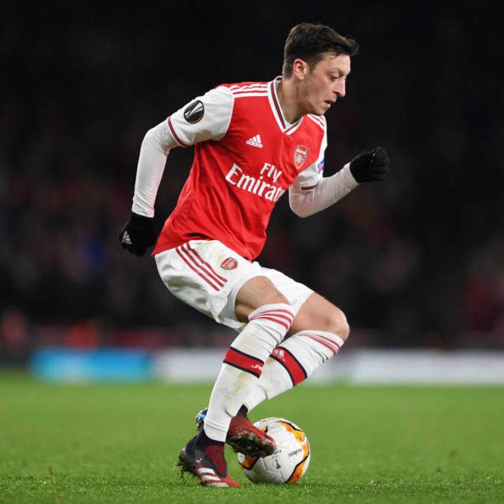 Arsenal have struggled to offload Ozil