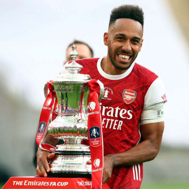 Aubameyang carried Arsenal to silverware in 2019/20