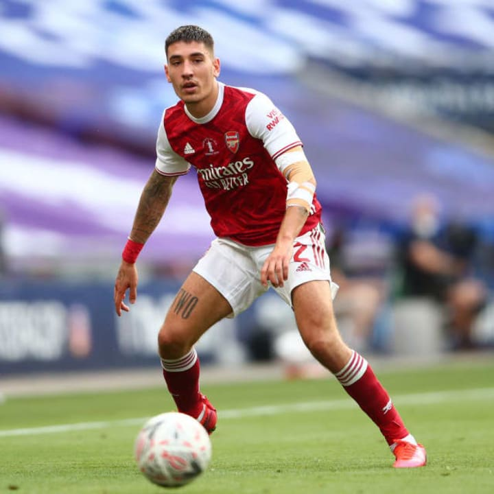 Hector Bellerin joined Arsenal's academy at 16