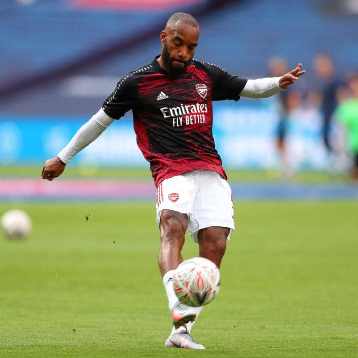 Lacazette has two years left on his deal