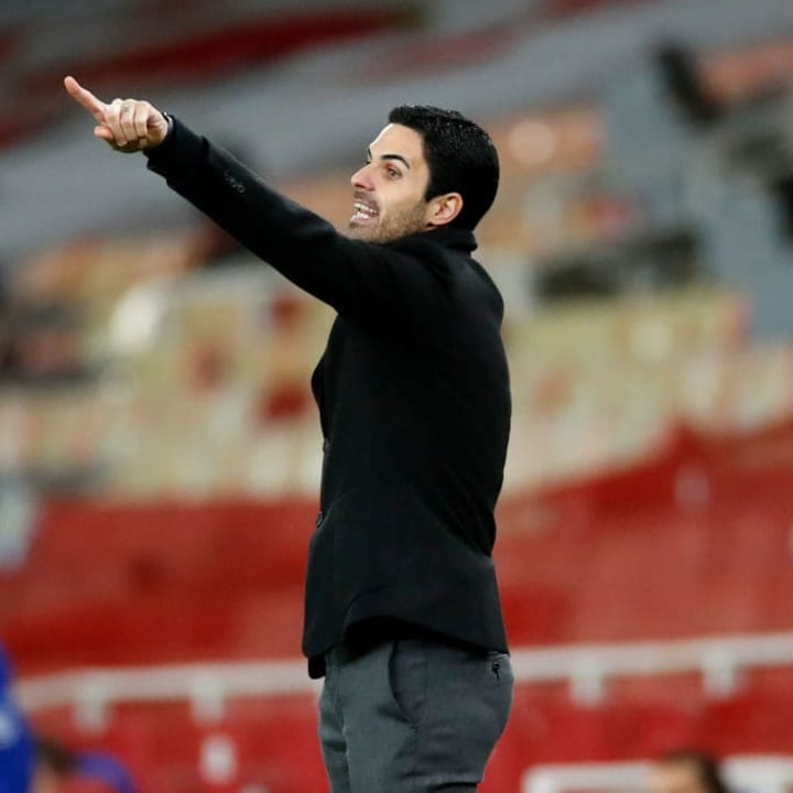 Arteta has called for patience