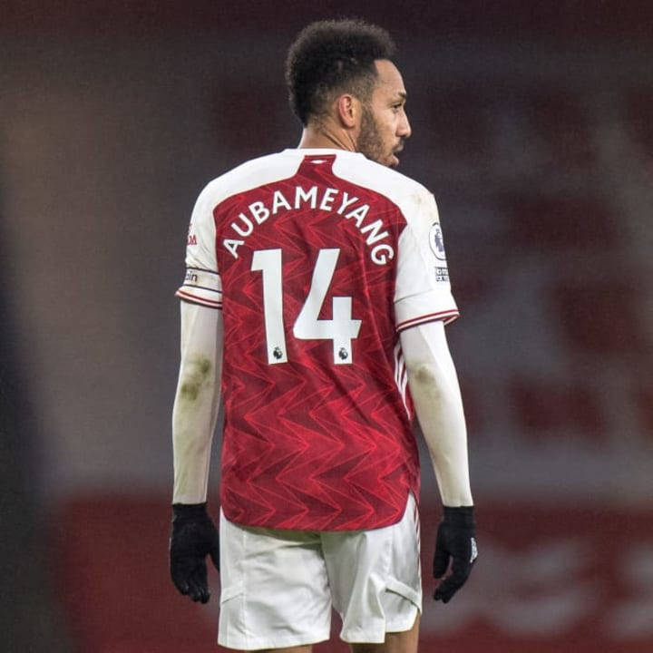 Aubameyang vowed last month to get back to his best form