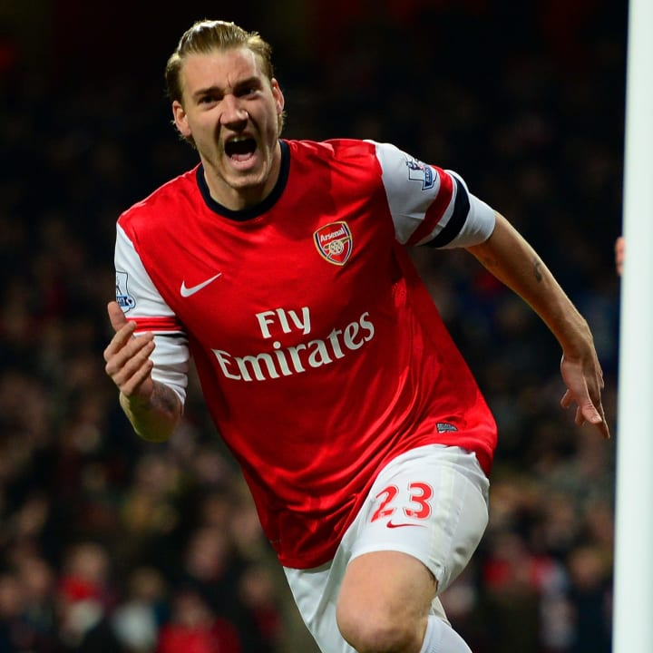 Bendtner is a shock entry this high up