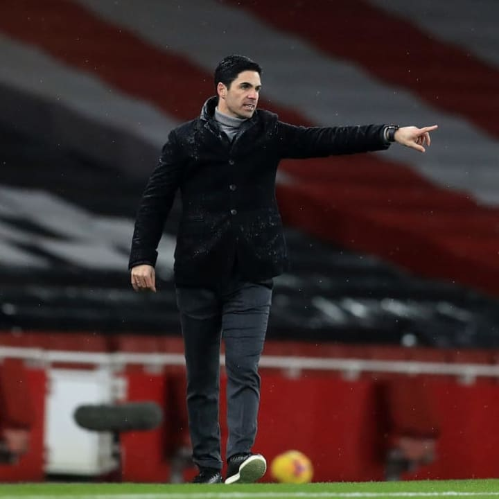 Arteta was delighted with Aubameyang's impact