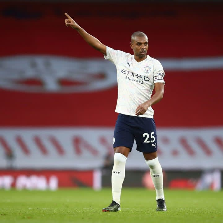 Fernandinho's game time this season has been limited