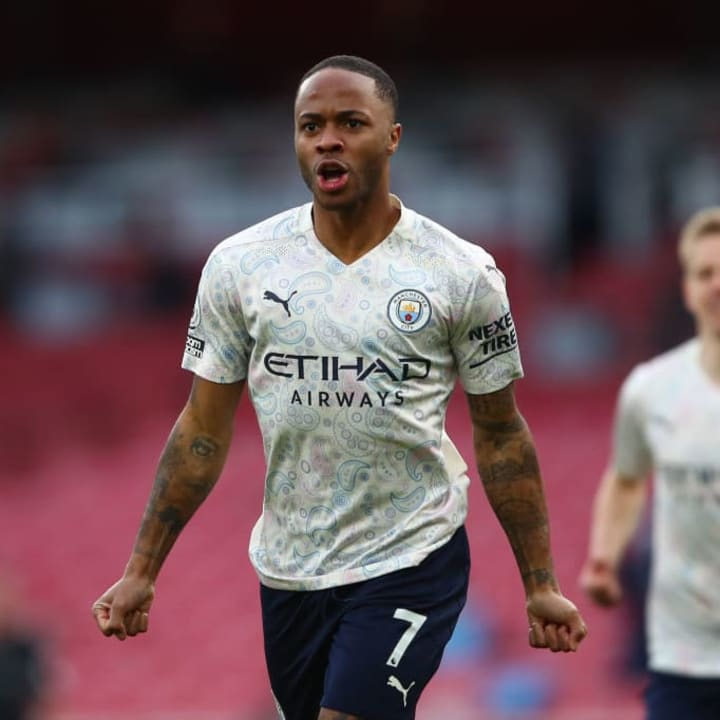 Sterling is in great form