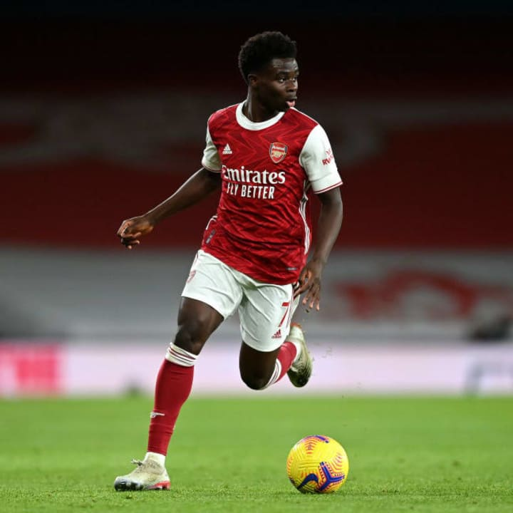 Smith Rowe is expected to follow in Saka's footsteps