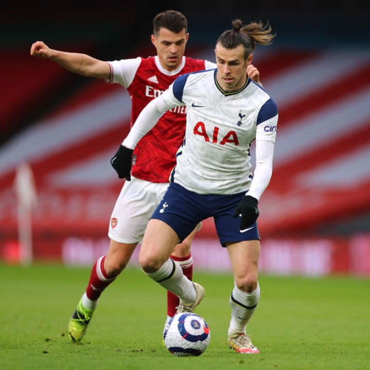 Gareth Bale didn't have his best afternoon in a Spurs shirt
