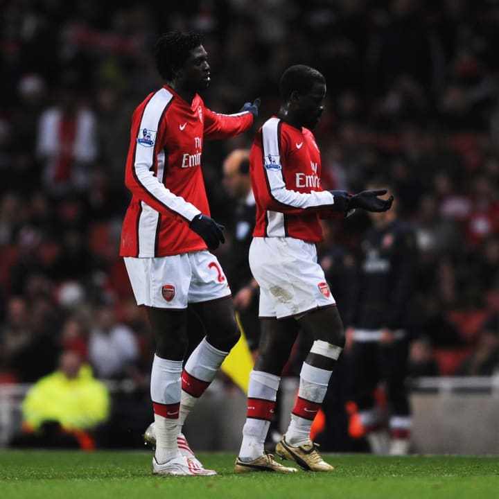 Emmanuel Adebayor, Emmanuel Eboue