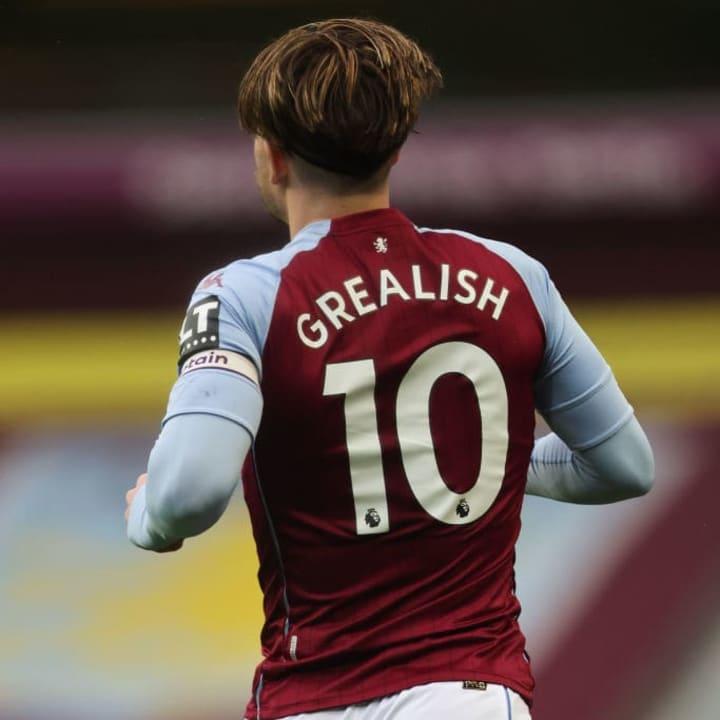 Jack Grealish is Villa's current number ten