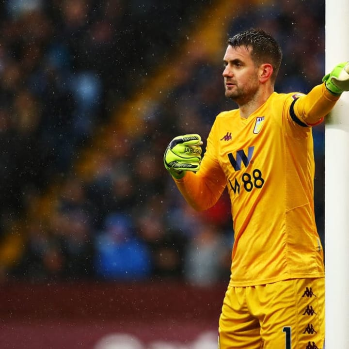 Tom Heaton was initially ruled out for the season through injury.