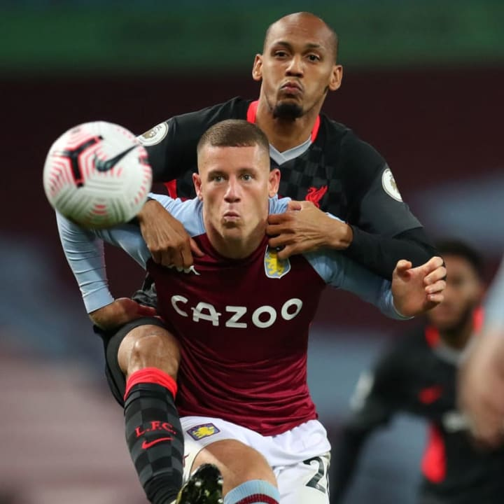 Fabinho, Ross Barkley