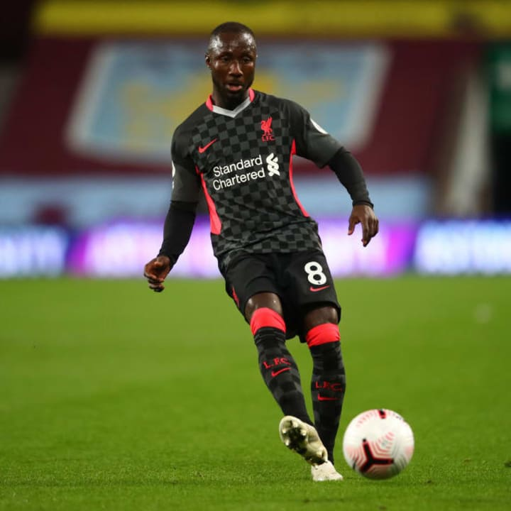 Keita has been a regular starter for Liverpool