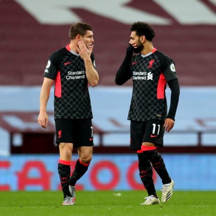 James Milner, Mohamed Salah